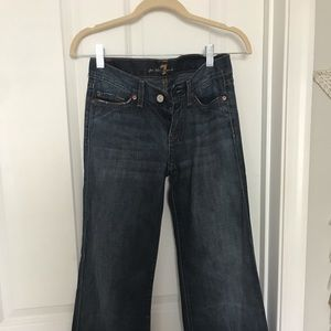 7 for all mankind, bootcut jeans